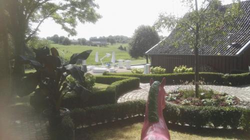 Gartengestaltung; Wegeinfassung mit Buchsbaum